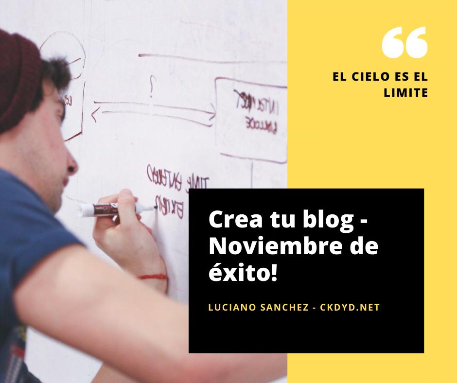 crea tu blog, muestra la imagen a una persona creando una plan de trabajo.